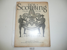 1928, September Scouting Magazine Vol 16 #8
