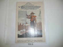 1926, August Scoutmastership Notes, Homestudy Department Columbia University