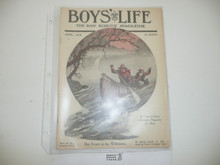 1919, April Boys' Life Magazine