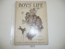 1918 October Boys' Life Magazine