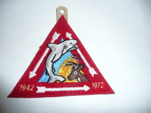 Order of the Arrow Lodge #566 Malibu 40th Anniversary Vigil Chenille Patch - Scout