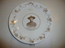 Porcelin Plate for Baden Powell, Defender of Mafeking