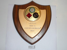 1969 Boy Scout Shield Type Plaque