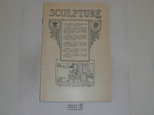 Sculpture Merit Badge Pamphlet, 1919 Printing