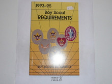 1993-1995 Boy Scout Requirements Book, 6-94 Printing