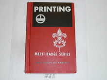 Printing Library Bound Merit Badge Pamphlet, 8-66 Printing