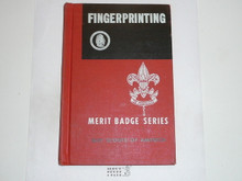Fingerprinting Library Bound Merit Badge Pamphlet, 11-66 Printing