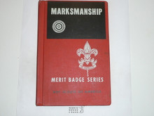Marksmanship Library Bound Merit Badge Pamphlet, 2-62 Printing
