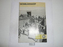Scholarship Merit Badge Pamphlet, 7-73 Printing