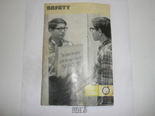 Safety Merit Badge Pamphlet, 4-74 Printing , Water Damage