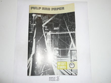 Pulp and paper Merit Badge Pamphlet, 1-74 Printing