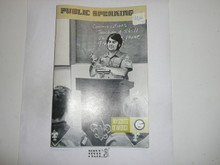 Public Speaking Merit Badge Pamphlet
