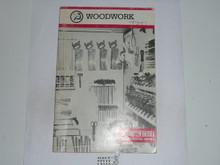 Woodwork Merit Badge Pamphlet, 10-83 Printing