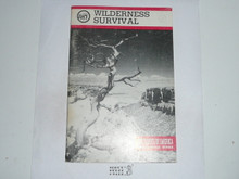 Wilderness Survival Merit Badge Pamphlet, 4-83 Printing