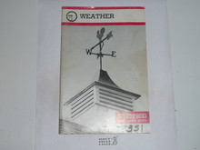 Weather Merit Badge Pamphlet, 5-83 Printing