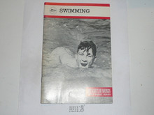 Swimming Merit Badge Pamphlet, 4-81 Printing