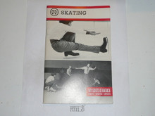 Skating Merit Badge Pamphlet, 6-87 Printing
