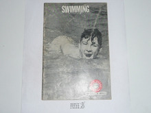 Swimming Merit Badge Pamphlet, 3-68 Printing