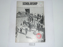 Scholarship Merit Badge Pamphlet, 2-71 Printing
