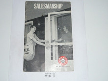 Salesmanship Merit Badge Pamphlet, 1-70 Printing