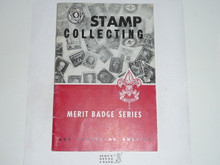 Stamp Collecting Merit Badge Pamphlet, 11-56 Printing
