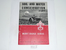 Soil and Water Conservation Merit Badge Pamphlet, 1-65 Printing
