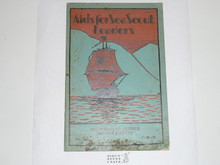 Aids For Sea Scout Leaders, 1931 Printing, Boy Scout Service Library