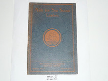 Aids For Sea Scout Leaders, 1928 Printing, Boy Scout Service Library