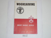 Wood Carving  Merit Badge Pamphlet, 3-46 Printing
