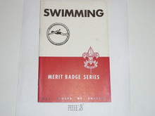 Swimming Merit Badge Pamphlet, 4-46 Printing