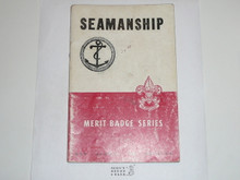 Seamanship Merit Badge Pamphlet, 12-50 Printing