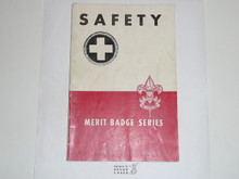Safety Merit Badge Pamphlet, 1-45 Printing