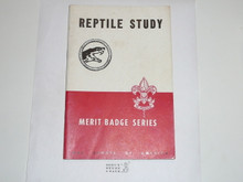 Reptile Study Merit Badge Pamphlet, 5-51 Printing