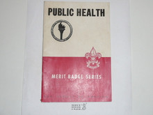 Public Health Merit Badge Pamphlet, 6-45 Printing