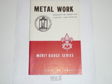 Metal Work Merit Badge Pamphlet, 5-46 Printing