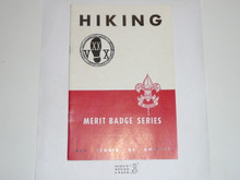 Hiking Merit Badge Pamphlet, 1-52 Printing
