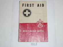 First Aid Merit Badge Pamphlet, 3-46 Printing
