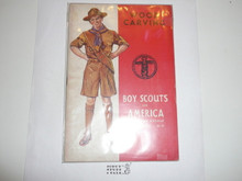Woodcarving Merit Badge Pamphlet, 2-43 Printing