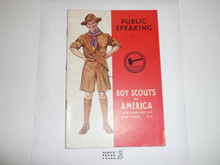 Public Speaking Merit Badge Pamphlet, 5-42 Printing