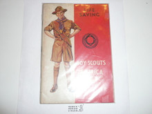 Lifesaving Merit Badge Pamphlet, 3-42 Printing