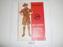 Leathercraft Merit Badge Pamphlet, 10-41 Printing