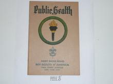 Public Health Merit Badge Pamphlet , 3-37 Printing