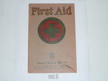 First Aid Merit Badge Pamphlet , 3-39 Printing