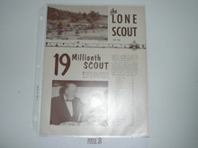 1952, May The Lone Scout Magazine