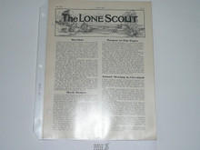 1938, May The Lone Scout Magazine
