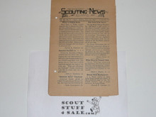 1925 Single Issue of Scouting News from Paoli Indiana, Volume 3 #9