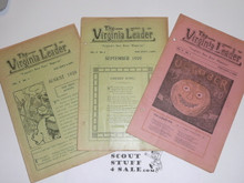 1920-1921 7 Issues of the Virginia Leader