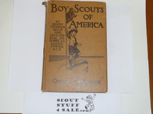 1910 Boy Scout Handbook, Original Edition, Hardbound, Two Author, INSCRIBED AND SIGNED BY SETON, Some Spine Wear