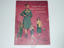 1955 Spring Girl Scout Equipment Catalog
