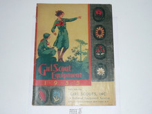 1935 Fall Girl Scout Equipment Catalog